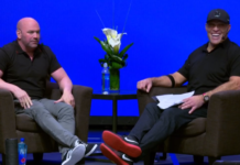 Tony Robbins and Dana White