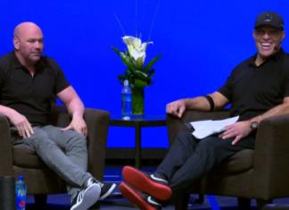 Tony Robbins and Dana White