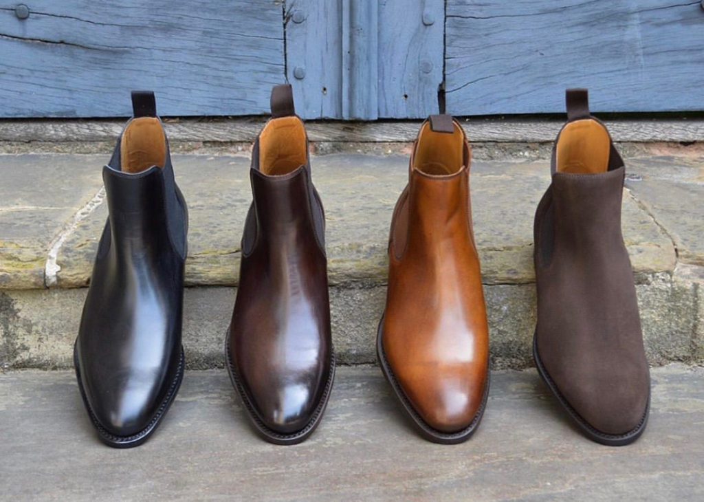 Chelsea Boots are apart of the 5 shoes every sophisticated man needs in his wardrobe.