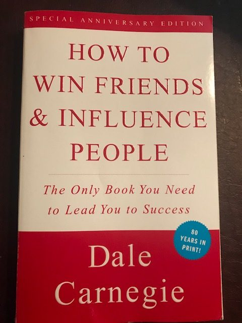 How to Win Friends & Influence People by Dale Carnegie. Find success as a conversationalist.