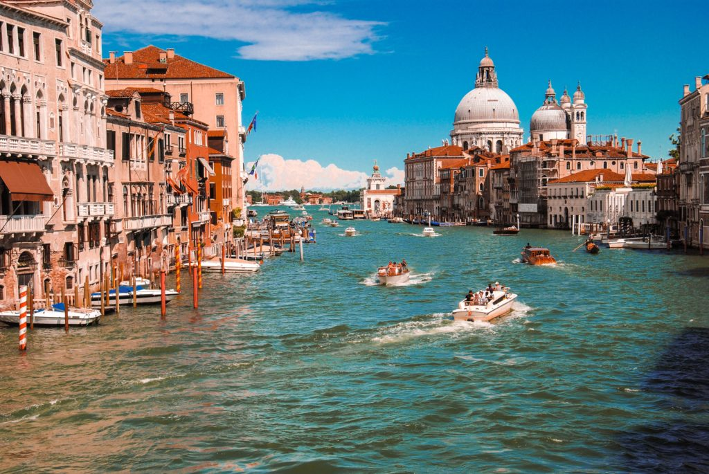 Vacation Spot #5: water taxis in Venice, Italy